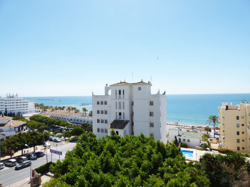 Benalmadena Costa, close to Puerto Marina, in a secured urbanisation with communal parking, tennis c,Spain