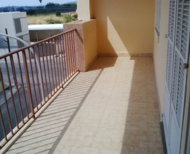 Flat in Inca with three bedrooms and two bathrooms, a built-in wardrobe, living room, type of floor ,Spain