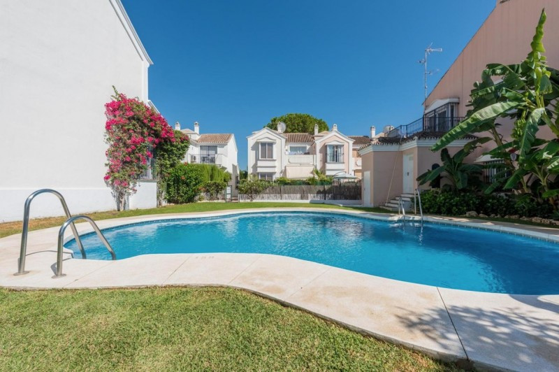 New Listing Bargain 3 Bed Townhouse in Nueva Andalucia with large open garden/patio to the rear west,Spain