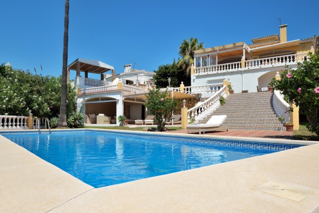 RESERVED Frontline Golf in Torrequebrada, Villa with sea view, golfview, mountainview. Entrance - ha, Spain