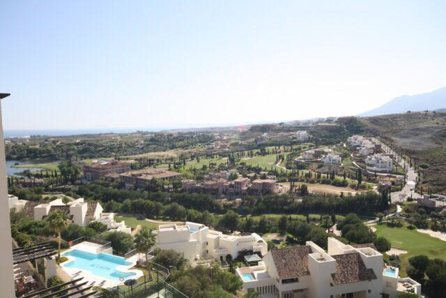 Penthouse with best views across one of the most  golf resorts on Spain's Costa del Sol.  A modern s,Spain