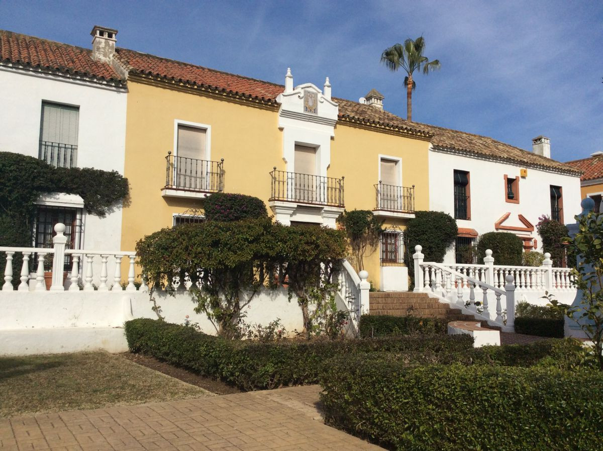Beautiful detached house in Guadalmina Baja. Urbanization Pueblo Andaluz in style. With private acce,Spain