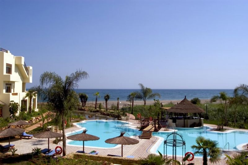 This lovely Penthouse Duplex Apartment with stunning veiws out over the Mediterranean Sea, features ,Spain