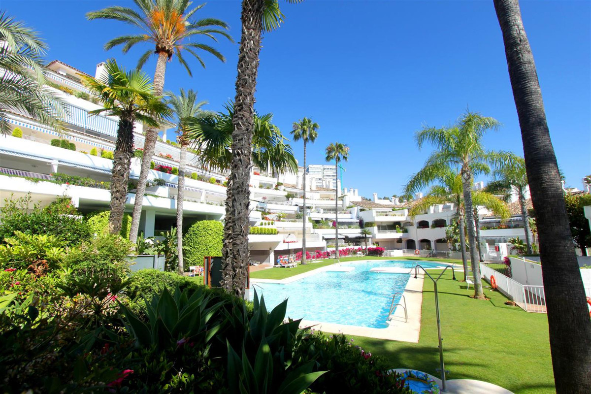 Large west facing 3-bed* elevated ground floor apartment, situated in Birdie Club, Rio Real, Los Mon, Spain