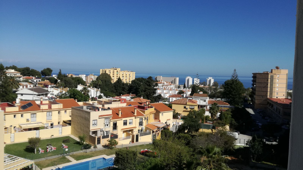APARTMENT WITH PANORAMIC AND SIDE SEA VIEWS, A FEW MINUTES WALKING FROM PUERTO MARINA. It is distrib,Spain