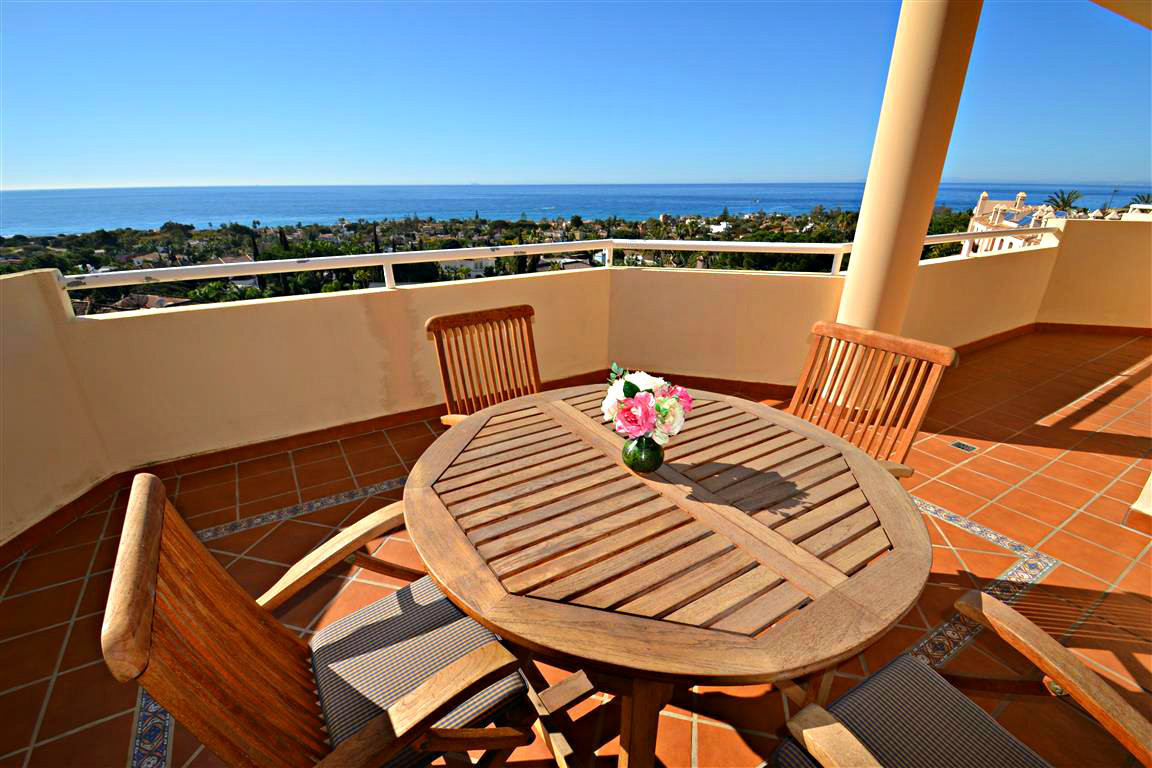 RESERVED!!! Sensational penthouse with BREATHTAKING VIEWS over the sea, the coast, North Africa and Spain