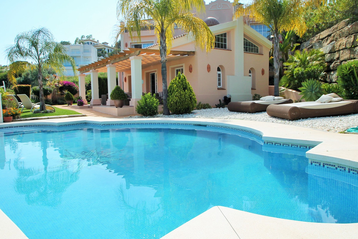 Only 10 minutes from the center of Marbella, this villa is simply perfect, private and with amazing ,Spain