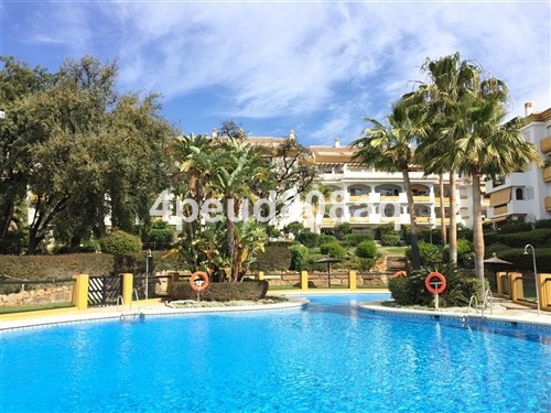 East facing unfurnished duplex penthouse with sea views overlooking the communal gardens, located wi,Spain