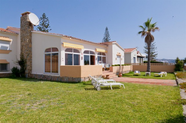 Frontline beach villa Estepona. This fabulous rustic style villa is located frontline beach offering, Spain
