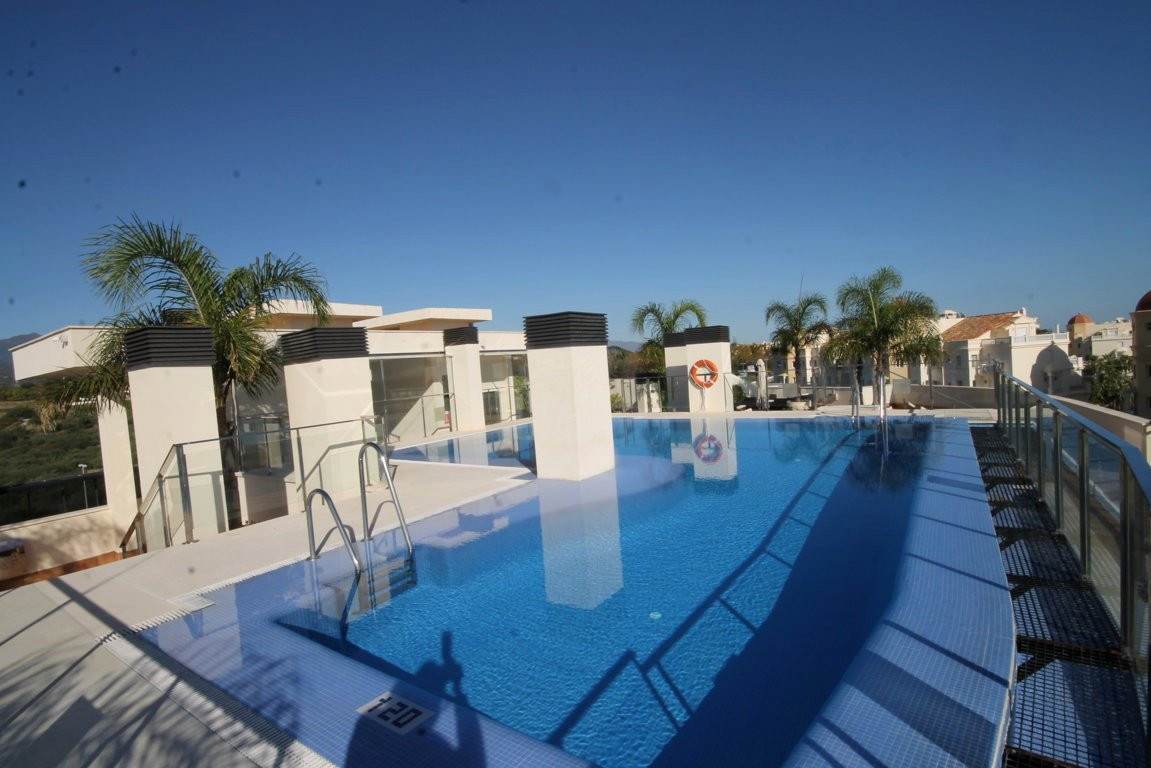 Fantastic apartment in New Golden Mile  This fantastic property is located on first beach line, 50 m, Spain