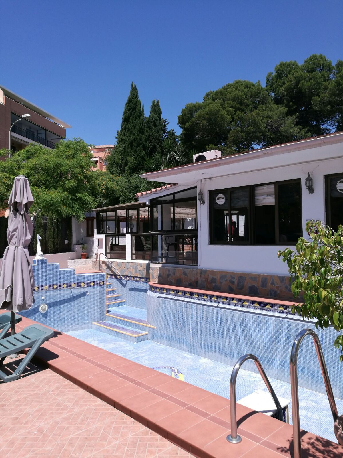 Detached, single story villa of individual character located in the El Pinillo area of Torremolinos., Spain