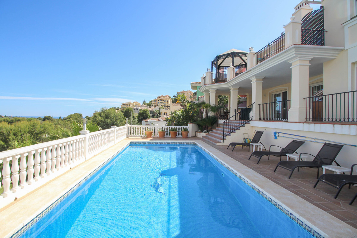 A stunning and immaculate 4 bed 5 bath frontline golf villa, very private and not overlooked in the ,Spain