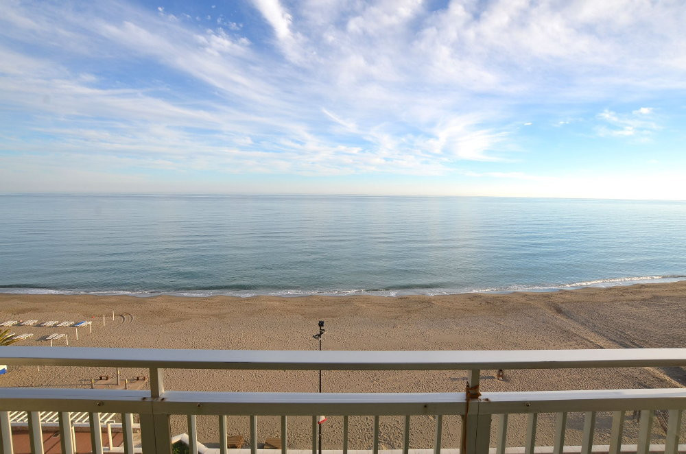 FRONT LINE BEACH!  Located in Carvajal (Fuengirola). Large south facing terrace of 19 m2 with amazin,Spain