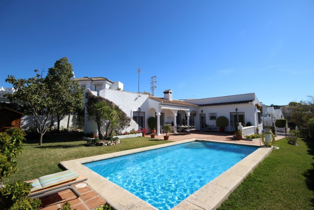 Within a peaceful neighborhood of Las Chapas and the long established small community of villas and , Spain