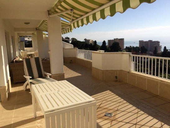 Large apartment with stunning sea views and huge terrace in Torreblanca.  Large apartment with stunn,Spain