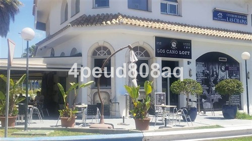 Business running as a bar/coffee shop with settled clientele located in the residential area of Las ,Spain