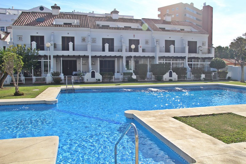 Townhouse with three bedrooms and two bathrooms, in front of the beach of Fuengirola, The property h, Spain