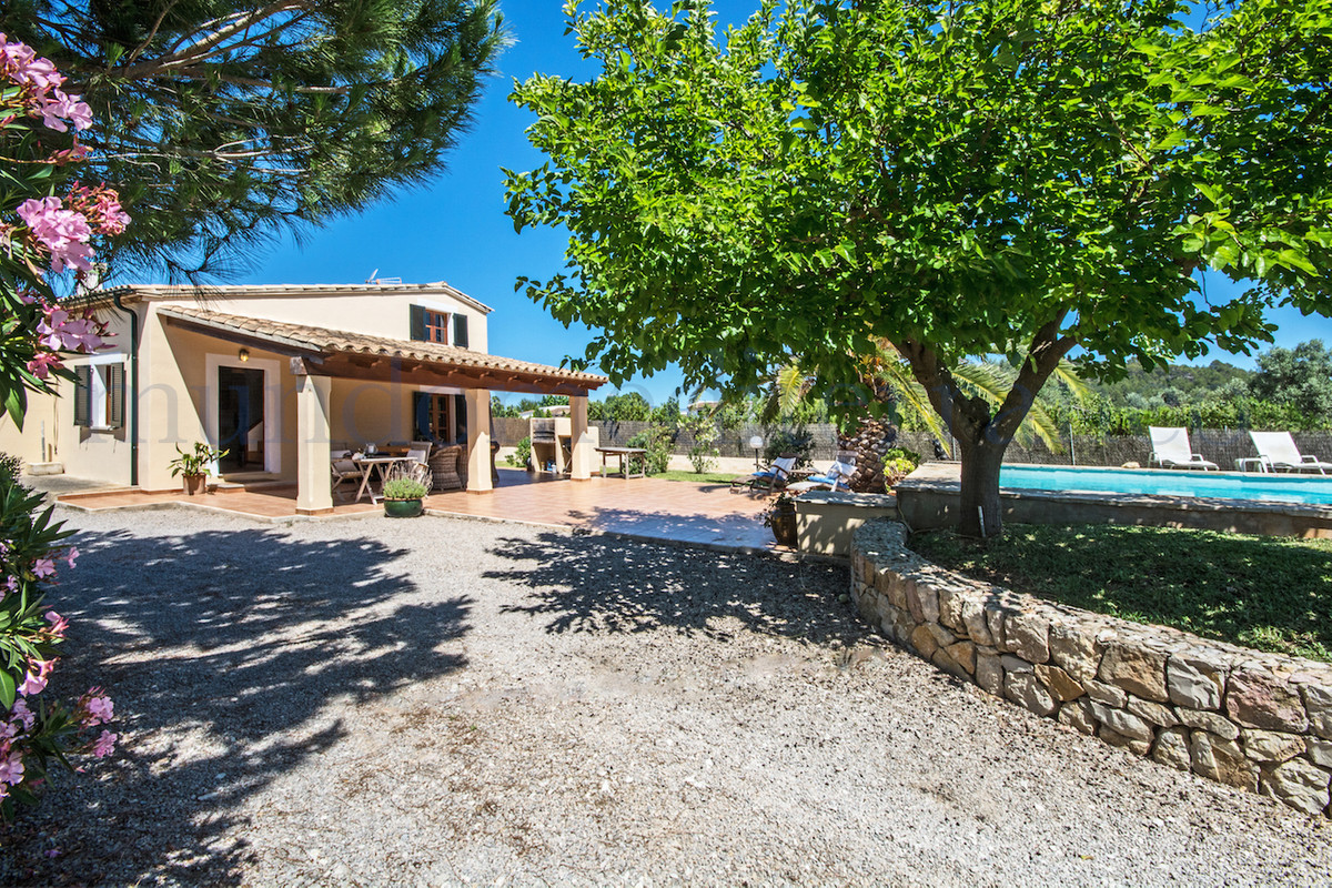 Excellent small country villa with pool situated in between Pollensa and Puerto Pollensa, views to t, Spain
