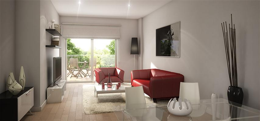 Stunning 2 bedroom modern apartments with large terraces under construction with Spa centre, heated , Spain