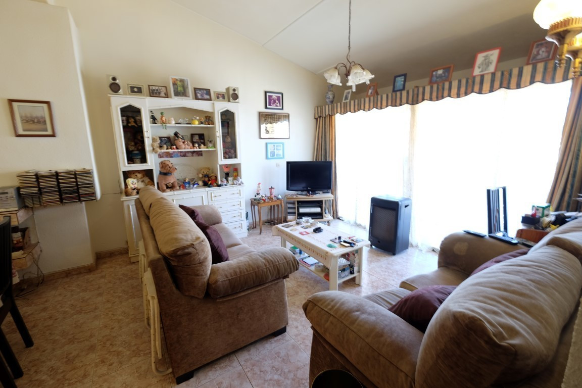 Apartment with 2 large bedrooms with fitted wardrobes,  large living room , 2 large terraces front a,Spain