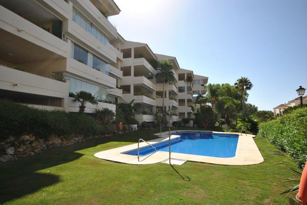 Beautiful apartment in Elviria at 200 mts from the beach, facing south west overlooking the gardens ,Spain