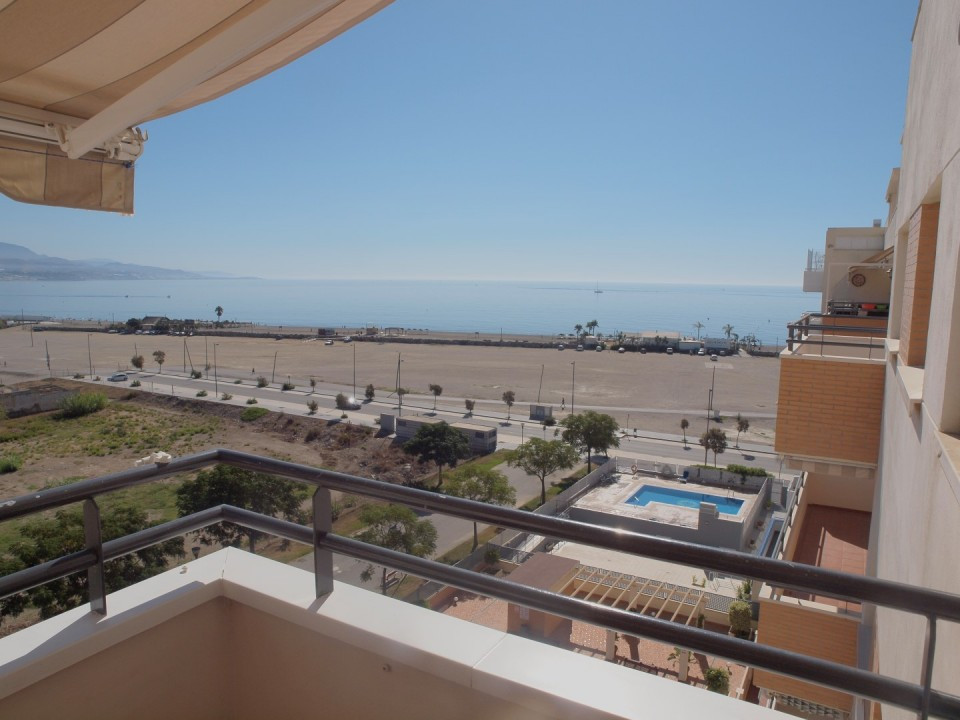 Beautiful apartment in front of the beach in Torre del Mar. In a closed complex consists of living/d, Spain