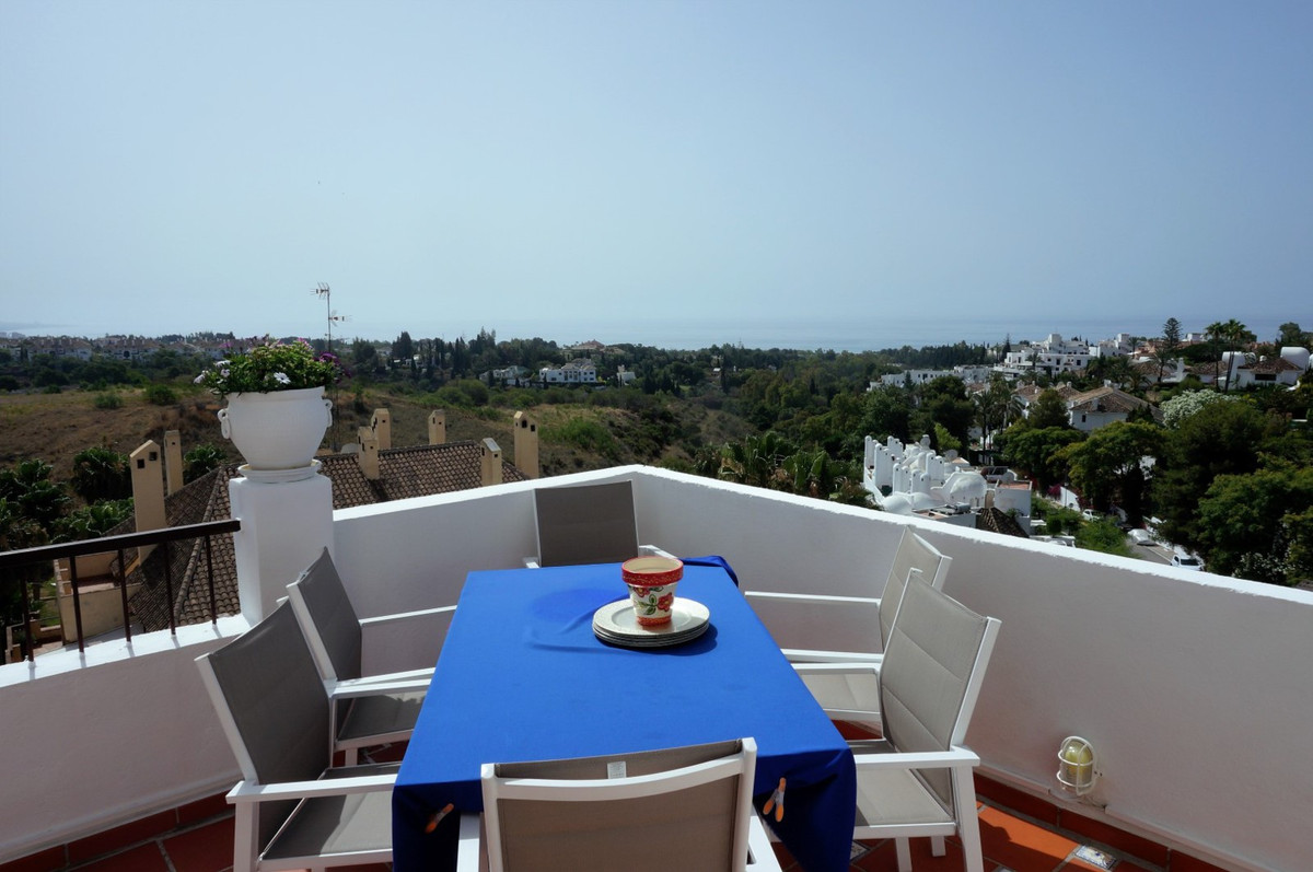 Beautiful penthouse with spectacular sea views situated in a prestigious residential area on Marbell, Spain