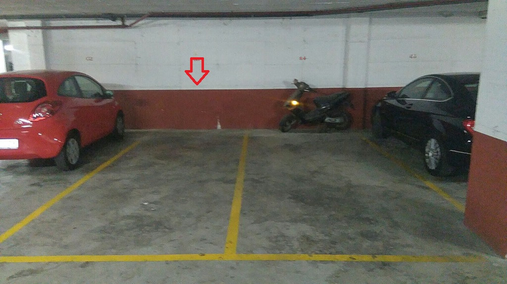 Underground parking space for sale, located in Los Pacos (Fuengirola), in Vegasol complex at only 10, Spain