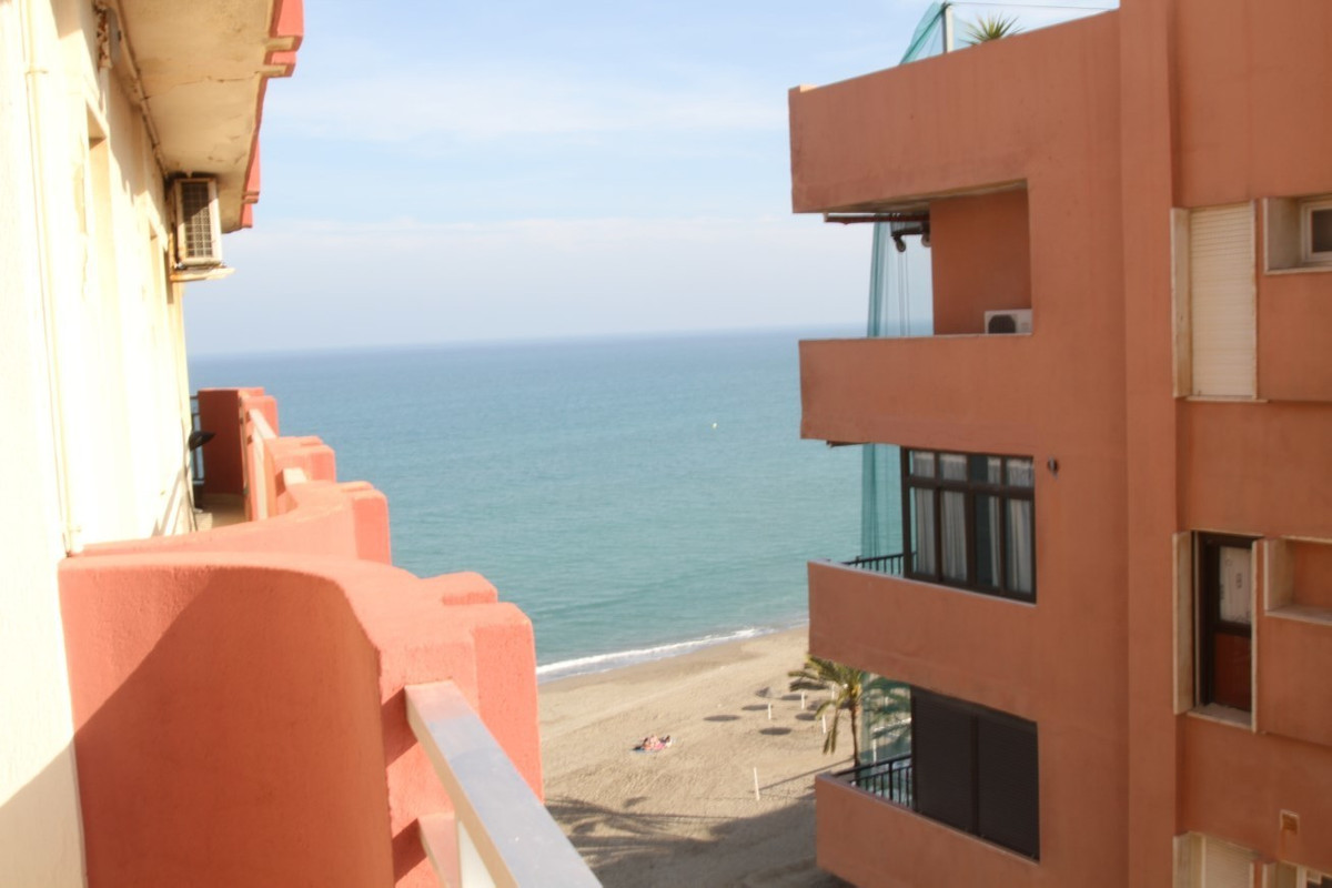 This apartment is on the 7th floor of a building that is front line beach in Fuengirola. The apartme, Spain
