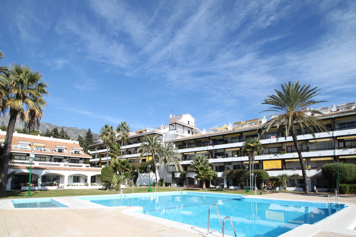 Recently refurbished elevated ground floor studio apartment in La Carolina Park, within walking dist, Spain