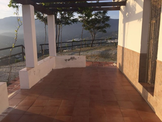 The hill, buenavista, 3800m2 plot, 60m2 square house, fully furnished, living room with fireplace, k,Spain