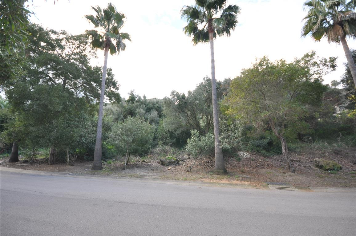 Beautiful plot of land where can be built a 516m2 Villa, plus basement or garage. Located on the top,Spain