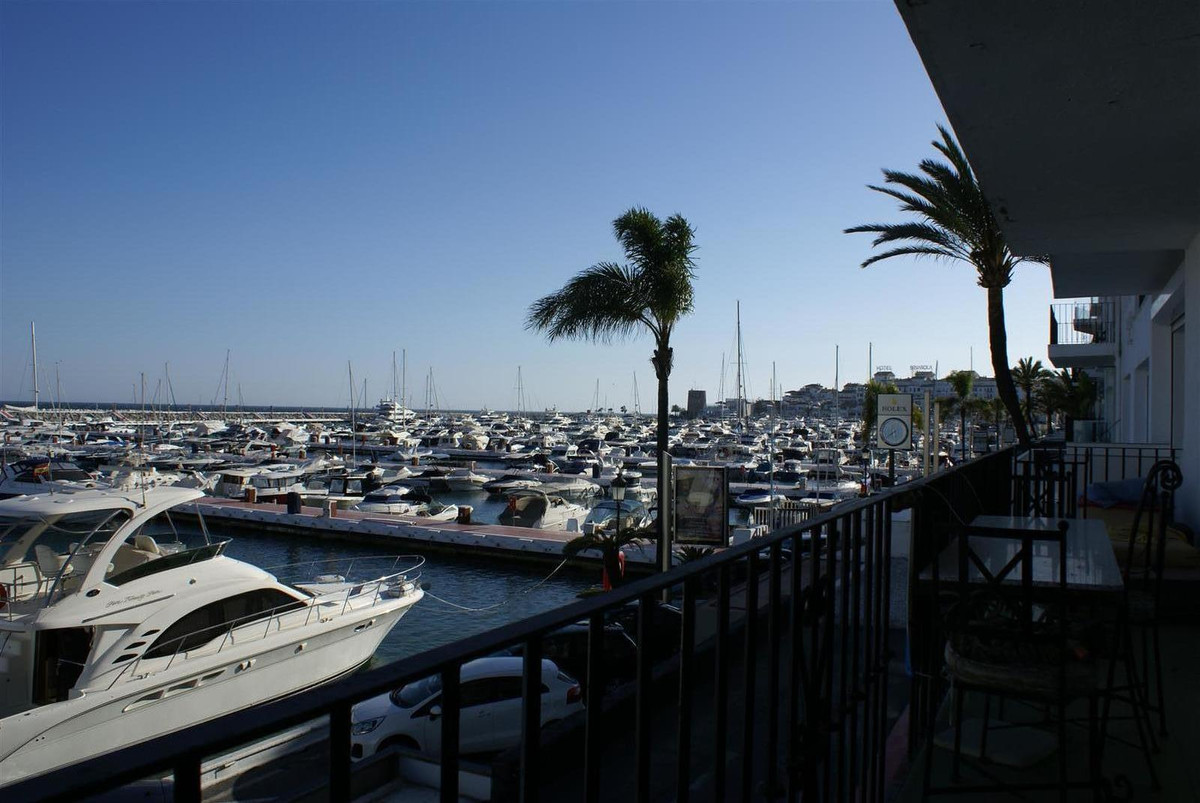 2 properties for sale in Puerto Banus.  A Front line and a connecting backline apartment with open v, Spain