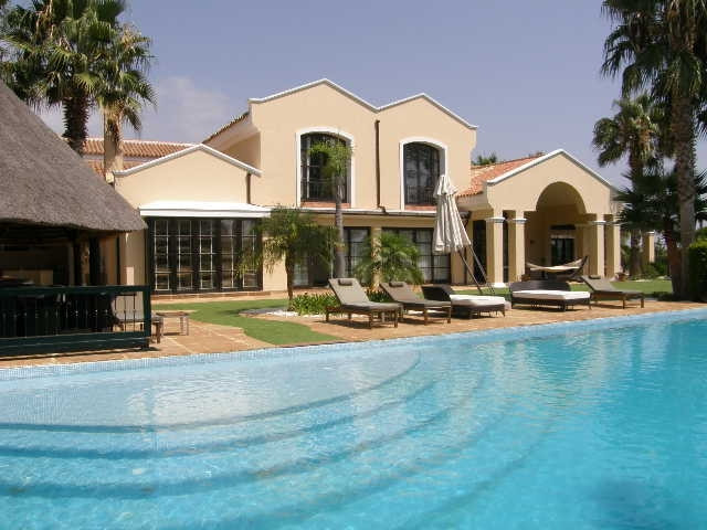 Sotogrande Alto: Spectacular 8 bedroom villa front line golf. Beautiful entrance with stone floors l, Spain