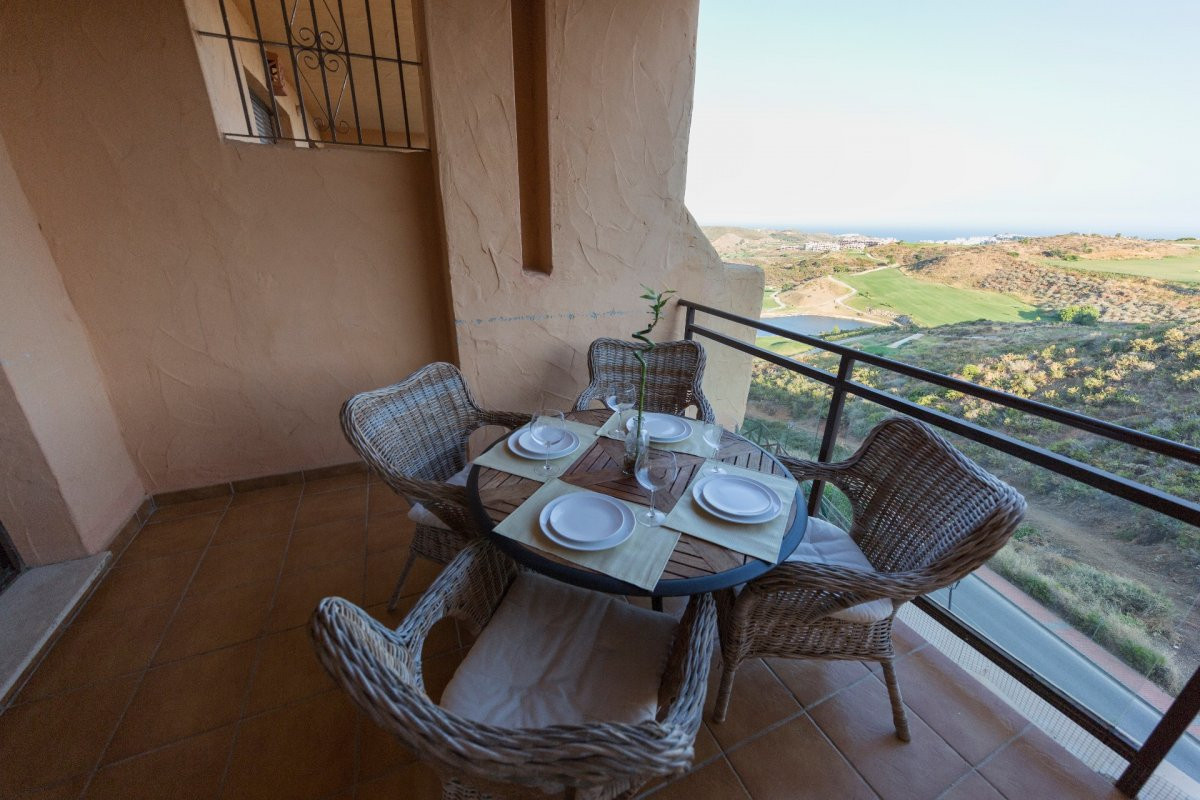 Beautiful apartment in a close urbanization with gorgeous views to the Mediterranean Sea and Golf Co,Spain