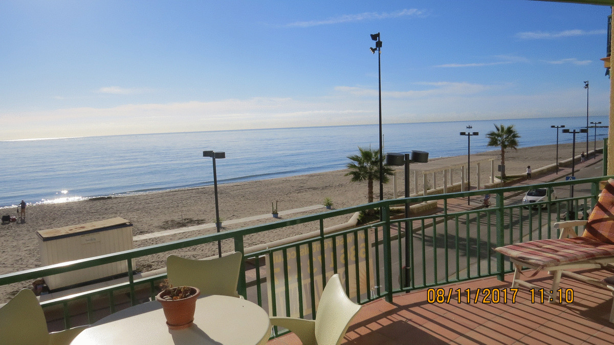 Lovely Beach Front apartment located in Carvajal,  2 bedrooms, 2 bathrooms, living-room, kitchen and, Spain