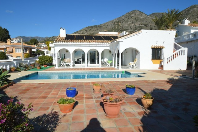 OPPORTUNITY!! RECENTLY REDUCED FROM 450.000€ TO 410.000€!!  Villa on one floor with panoramic sea vi,Spain