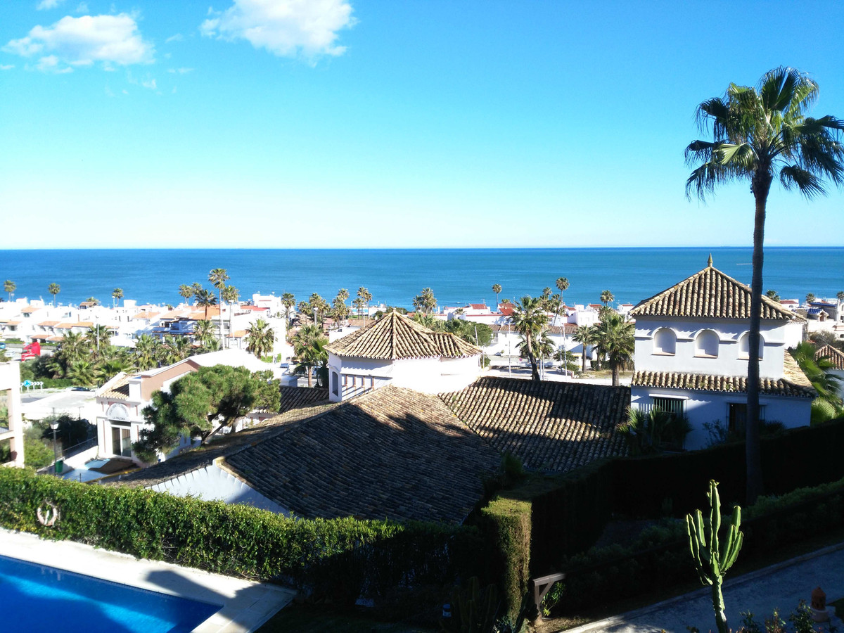 High quality apartment with fantastic sea views.  The apartment is located in Manilva in the residen,Spain