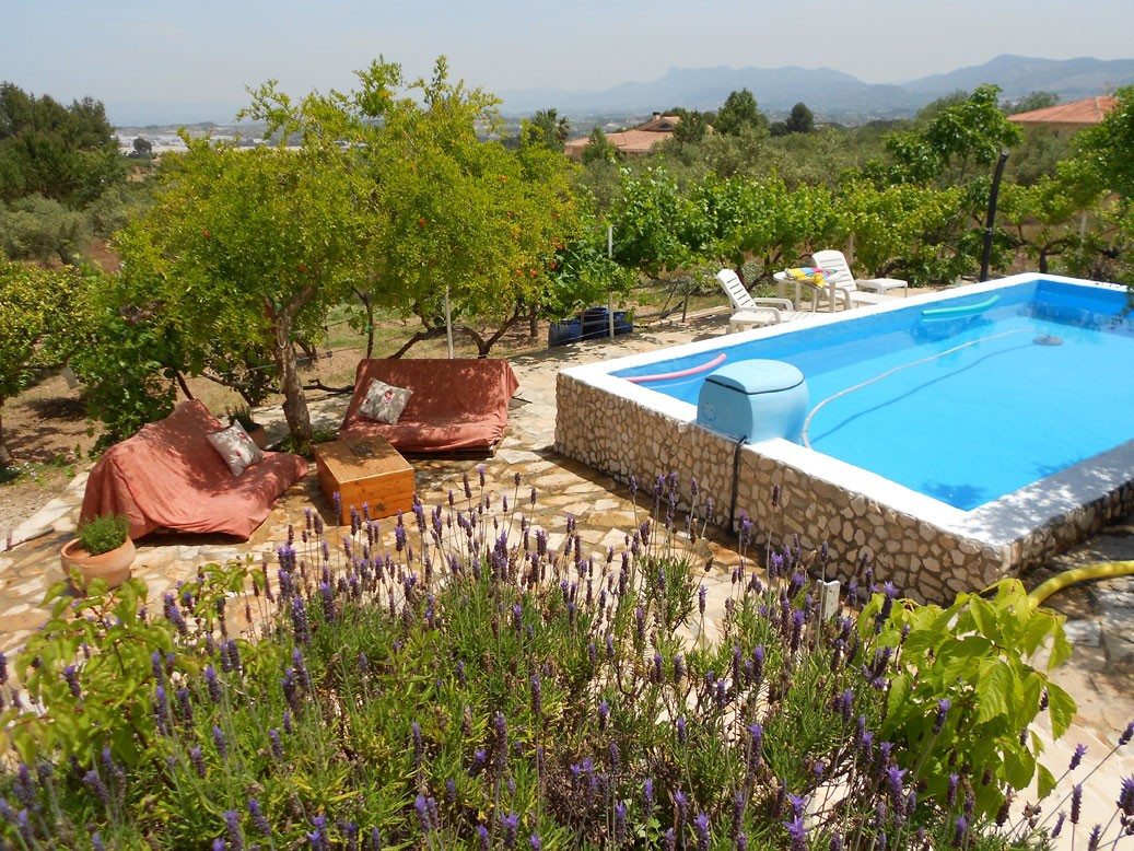 •Casa Sanchis is a Beautiful, large country house of 167m2 with breath-taking views of the Sierra Ma, Spain