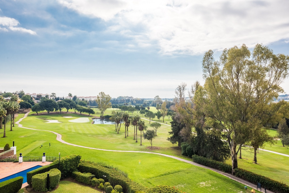 A great opportunity to acquire a beautiful duplex penthouse in the heart of the golf valley. The pen,Spain