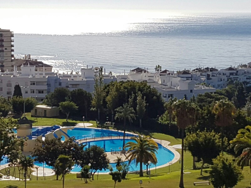 Studio with beautiful sea views. It is located a few meters from the Park of a Paloma and the Promen,Spain