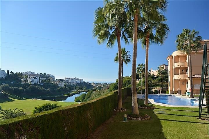 FANTASTIC APARTMENT WITH PANORAMIC VIEWS TO THE GOLF COURSE IN RIVIERA DEL SOL, MIJAS-COSTA.   IDEAL, Spain