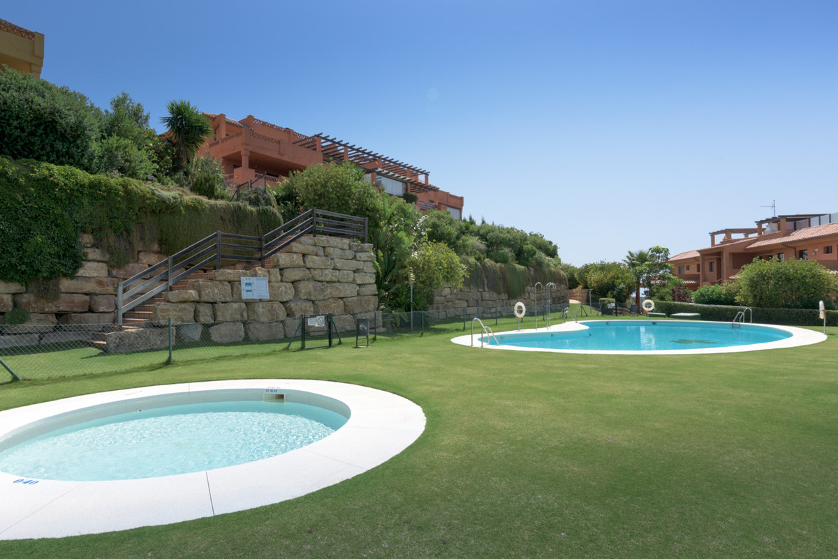 Golfers Paradise. Frontline golf penthouse overlooking the 4th fairway and the 10th green of Dona Ju,Spain