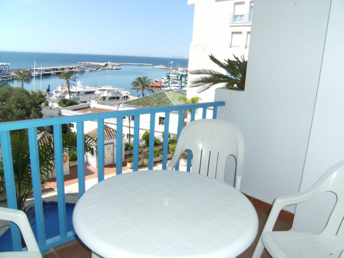 Amazing 2 bedroom apartment overlooking the Port of Estepona. Just a  few metres away from bars, res, Spain
