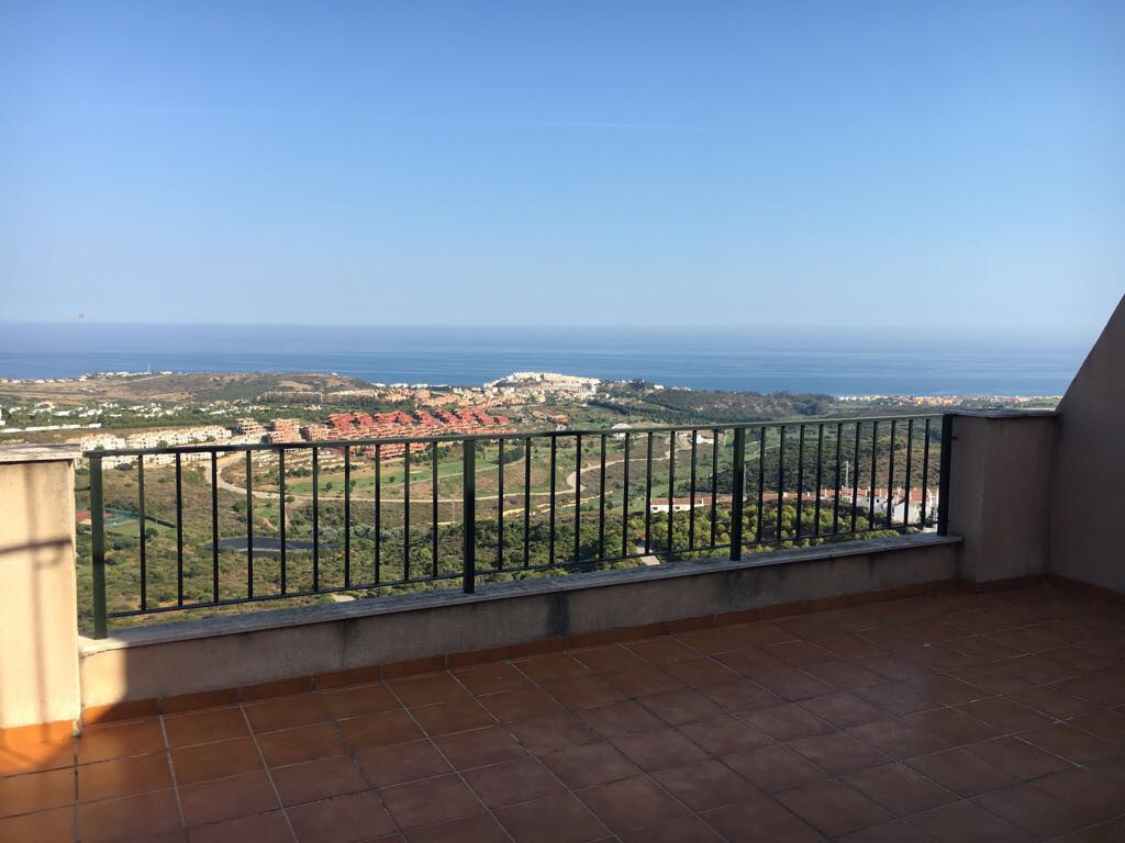 Duplex penthouse with panoramic sea and mountain views.  This apartment has 2 bedrooms and 2bathroom,Spain