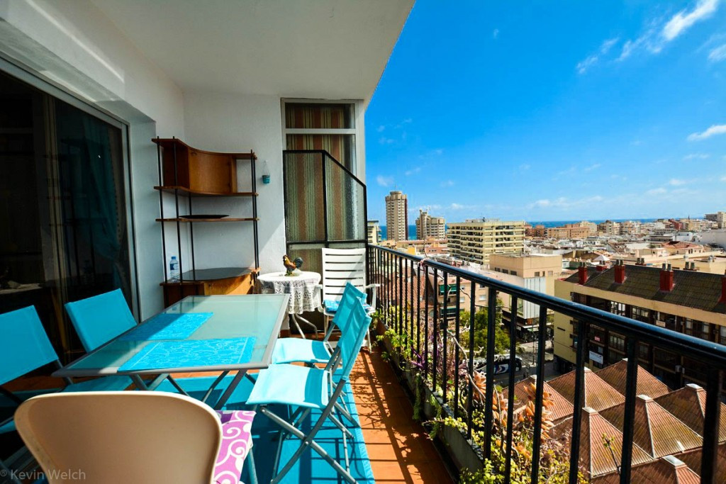 3 bedroom apartment reformed to 2 bedrooms with sunny terrace (afternoon sun) and panoramic views lo, Spain