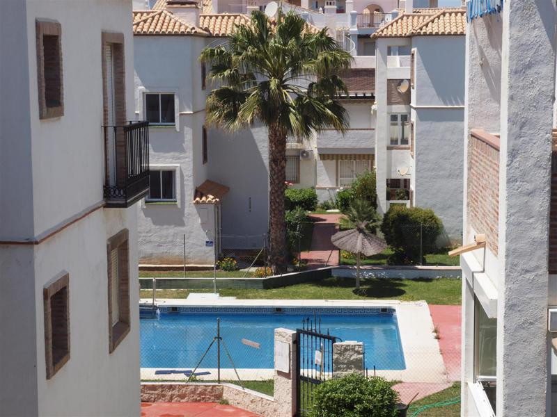 Beautiful Duplex-Penthouse in Torrox Costa with sea and mountain views. It has a living room, 2 bedr, Spain