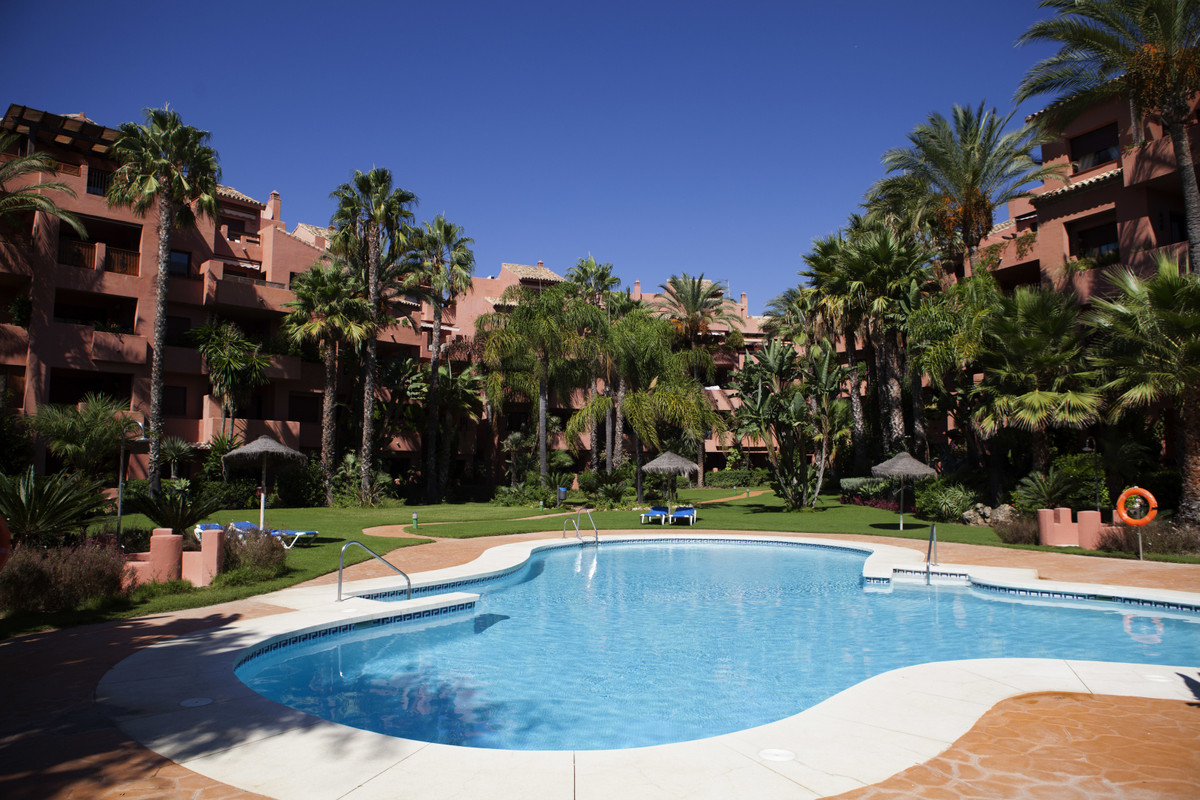 PLIERS PLAYA, MARBELLA apartment with 3 bedrooms and 2 bathrooms (one of them in-suite). All rooms h,Spain
