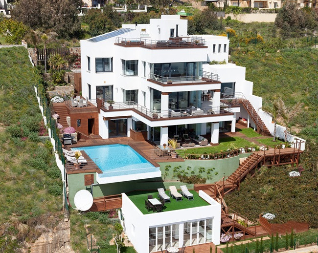 This amazing villa is located above the beaches of Casares, Manilva and Sotogrande boasting panorami, Spain