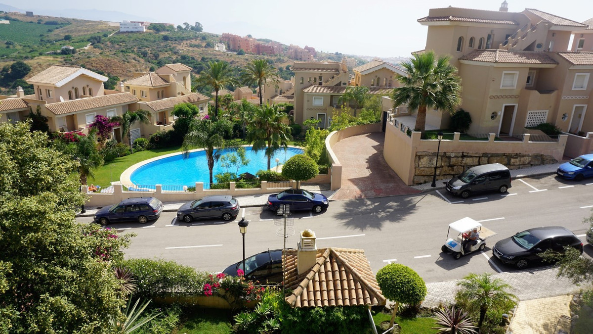 Townhouse for sale with wonderful sea and mountain views  The property is located in the exclusive c,Spain